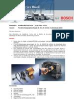 011 - Procedimentos para substituição do filtro do módulo de alimentação DNOX