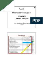 Aula 20 Concreto Aitivo Mc II (1)