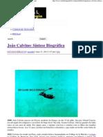 João Calvino_ Síntese Biográfica _ Portal da Teologia.pdf