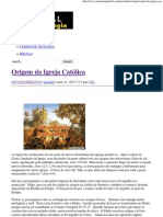 Origem da Igreja Católica _ Portal da Teologia.pdf