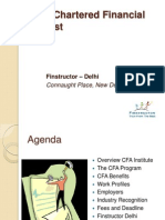 CFA - Student Presentation