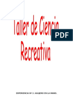 Taller Ciencia Recreativa