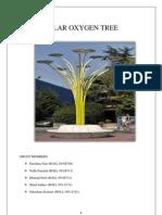 Solar Oxygen Tree