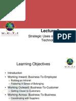 Lec03 Strategic Use of IT