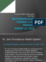 multidisciplinary thoracic lung1