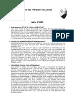 ECLDF Newsletter 2013_1 Fr