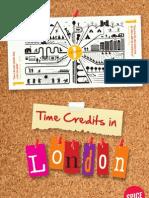 Spice Time Credits London Menu