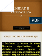 Unidad II Literatura