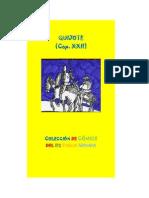 Quijote Cap XXII