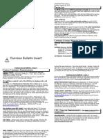 August 18 Common Bulletin