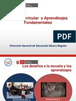1 Marco Curricular Nacional y Aprendizajes Fundamentales