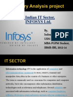 Infosys Presentation(by Indranil Ganguly)