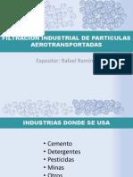 Filtracion Industrial de Particulas Aerotransportadas