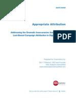 Demystified Appropriate-Attribution SponsoredBy Coremetrics