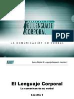 Curso Digital - El Lenguaje Corporal - Leccion 1