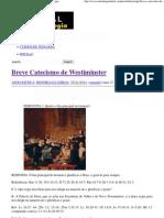 Breve Catecismo de Westiminster _ Portal da Teologia.pdf