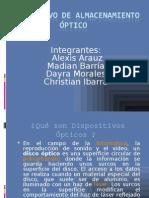 Dispositivo de almacenamiento óptico