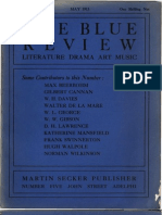 The Blue Review, 1