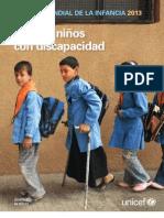 Estado Mundial de la Infancia 2013 (Unicef)