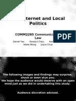 Internet and Local Politics