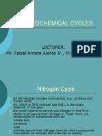 Bio Geo Chemical Cycles
