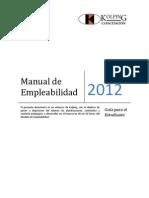 Manual de Alumno Empleabilidad 2012