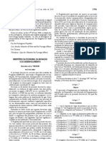 Decreto-Lei nº 90-2010 de 22 de Julho - revoga 97-2000
