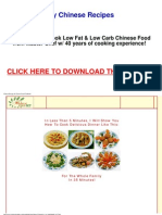 500 Healthy Chinese Recipes Cookbook - Learn How to Cook Low Fat & Low Carb Chinese Food From Mas