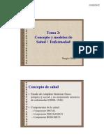 Conceptos y Modelos de Salud y Enfermedad