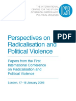 Perspectives on Radicalisation and Political Violence - Papers from the First International Conference on Radicalisation and Political Violence