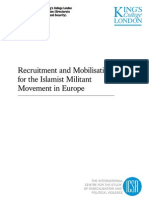 Recruitment and Mobilisation for the Islamist Militant Movement in Europe - A study carried out by King's College London for the European Commission