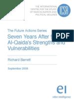 Seven Years After 911 Al-Qaidas Strengths and Vulnerabilities by Richard Barrett