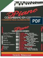 5 Piezas de Piano Colombiano en Concierto.