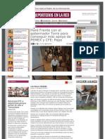 15-08-2013 'Haré Frente con el gobernador Torre para conseguir más apoyo de PEMEX y CFE' Pepe