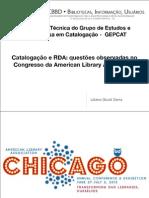 Catalogação e RDA