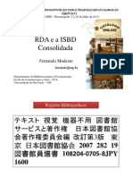 RDA e ISBD Consolidada