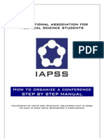 Iapss Conference Manual