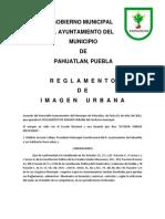 Reglamento de Imagen Urbana