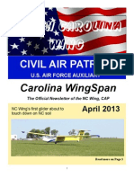 North Carolina Wing - Apr 2013
