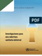 OMS Informe Sobre La Salud en El Mundo 2013