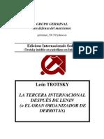 93791773 Trotsky Leon La III Internacionaldespues de Lenin