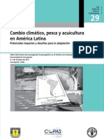 Cambio climático, pesca y acuicultura en américa latina