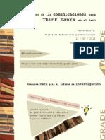 El futuro de las comunicaciones de think tanks