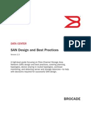Brocade SAN Design Best Practices | Network Topology ...