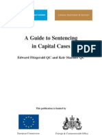 A Guide to Sentencing in Capital Cases