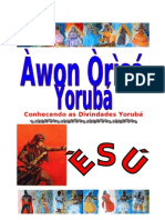 AWON ORISÁ ESÚ WORD