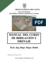 Manual Del Curso de Irrigacion- Nuevo