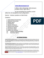 dec,jan,feb,march,april current affairs 2013