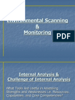 Environmental Scanning & Monitoring