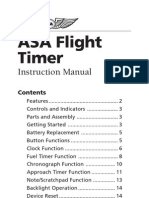 Flight Timer Manual